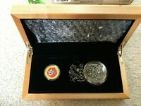 2015 CANADA 14K GOLD CAD100 LOONEY TUNES BUGS BUNNY AND FRIENDS POCKET WATCH