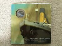 2012 CANADA TITANIC COLORIZED 25 CENT COIN IN FOLDER   STILL SEALED NEVER OPENED