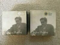 2014 ALDERNEY DYLAN THOMAS GOLD & SILVER PROOF COINS   ROYAL MINT