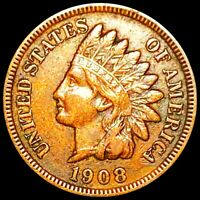 1908 S INDIAN HEAD PENNY VERY RARE HARD TO FIND KEY