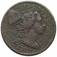 1794 S-48 R-5 PCGS VF DETAILS STARRED REVERSE LIBERTY CAP LARGE CENT COIN 1C