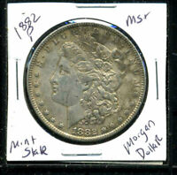 1882 P BU MORGAN DOLLAR UNCIRCULATED SILVER MINT STATE COMBINE SHIP$1 COINC3169