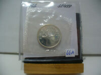 1966  CANADA SILVER QUARTER  DOLLAR TOP GRADE    66A  PROOF LIKE  SEALED
