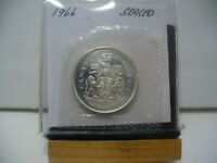 1966 CANADA SILVER HALF DOLLAR TOP GRADE  50 CENT PIECE  66  PROOF LIKE  SEALED