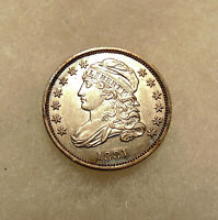 1831 CAPPED BUST DIME - SHARP LOOKING COIN - SHIPS FREE
