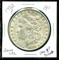 1882 P AU MORGAN DOLLAR 90 SILVER COIN ABOUT UNCIRCULATED COMBINE SHIP$1 C1542