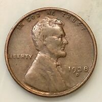 1938-D LINCOLN PENNY YOUR ACTUAL COIN IN PHOTO