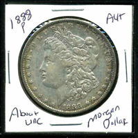 1888 P AU MORGAN DOLLAR 90 SILVER COIN ABOUT UNCIRCULATED COMBINE SHIP$1 C1720