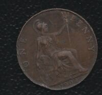 GREAT BRITAIN PENNY 1904