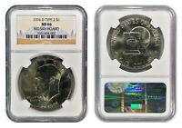 1976 D TYPE 2 EISENHOWER DOLLAR NGC MS66 BIG SKY HOARD