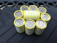ONE  1  UNSEARCHED KENNEDY HALF DOLLAR ROLLS POSSIBLE 40  OR