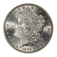 1889-S $1 MORGAN DOLLAR PCGS MINT STATE 65 CAC 2503-22 PQ WHITE