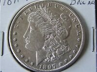 1889-O MORGAN SILVER DOLLAR VF ERROR VAM 6 REPUNCHED DATE ON 1 & 8