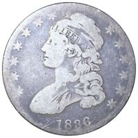 1836 CAPPED BUST HALF DOLLAR HIGH END VERY NICE 50C PHILADEL