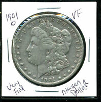 1901 O VF MORGAN DOLLAR  FINE 90 SILVER US  COMBINE SHIP $1 COINWC1433