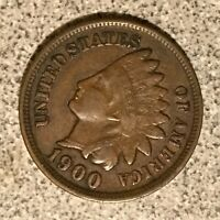 1900 INDIAN HEAD CENT  NICE SOLID COIN