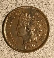 1904 INDIAN HEAD CENT  NICE COIN