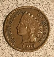 1909 INDIAN HEAD CENT  NICE SOLID COIN