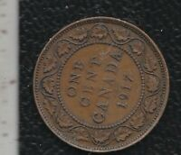 CANADA 1 CENTS 1917
