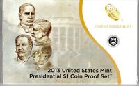 2013 UNITED STATES MINT PRESIDENTIAL $1 PROOF SET   4 COINS