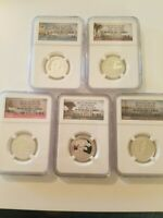 2013 S SILVER NGC PF69 PEACE MEMORIAL GREAT BASIN WHT MTN FT