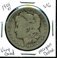 1901 O VG MORGAN DOLLAR 90 SILVER  GOOD U.S.A COMBINE SHIP $1 COIN CC549