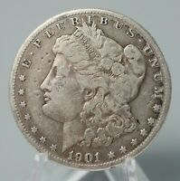 1901-O ANTIQUE MORGAN SILVER DOLLAR US COIN