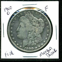 1900 O F MORGAN DOLLAR 90 SILVER  FINE U.S COMBINE SHIPPING $1 COIN WC1488