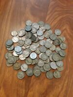 SILVER WAR NICKLES LOT 102 COINS 35 SILVER OVER 140 DOLLARS