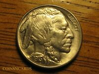 1913 S 5C BUFFALO NICKEL TYPE 1 UNCIRCULATED BEAUTY FULL HOR