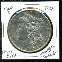 1900 O BU MORGAN DOLLAR UNCIRCULATED SILVER MINT STATE COMBINE SHIP$1 COINC1612