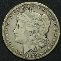 1879 CC CAPPED DIE CARSON CITY MORGAN SILVER DOLLAR
