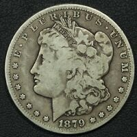 1879 CC CARSON CITY MORGAN SILVER DOLLAR
