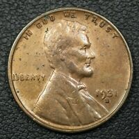 1931 S LINCOLN WHEAT COPPER CENT - CLEANED