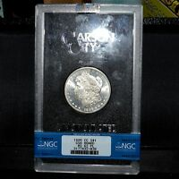 1885-CC $1 MORGAN SILVER DOLLAR  NGC MINT STATE 62-PL GSA  PROOF-LIKE GRADED TRUSTED