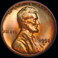 1952 D   LINCOLN WHEAT CENT    BU  TONED  1.151