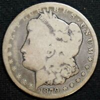 1879-CC MORGAN SILVER DOLLAR -GOOD/ GOOD - 26314