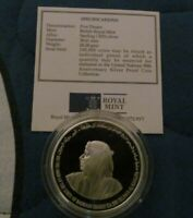 BAHRAIN 5 DINARS 1995 UNITED NATIONS PROOF COIN IN BOX WITH CERT