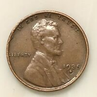 1935-S LINCOLN PENNY YOUR ACTUAL COIN IN PHOTO
