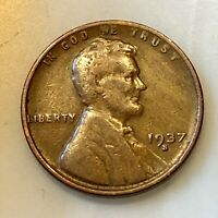 1937-S LINCOLN PENNY YOUR ACTUAL COIN IN PHOTO