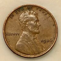 SHARP EXAMPLE 1926 LINCOLN PENNY YOUR ACTUAL COIN IN PHOTO