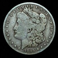 1895-O $1 MORGAN SILVER DOLLAR  VG  GOOD DETAILS   NOW TRUSTED