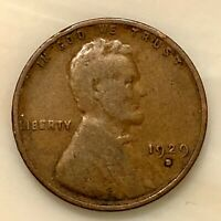 1929-D  LINCOLN PENNY YOUR ACTUAL COIN IN PHOTO