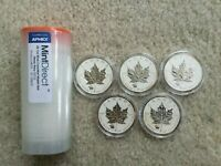 30X 2012 CANADA MAPLE LEAF WITH TITANIC PRIVY 1 OZ SILVER COIN   ROYAL CANADIAN