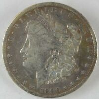 1896-S UNITED STATES $1 - MORGAN DOLLAR - VF CLEANED