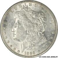 1889-S MORGAN SILVER DOLLAR  CHOICE AU FROSTY WHITE