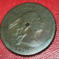 1794 LARGE CENT HEAD OF 1794 VG  COIN N/R