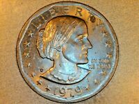 1979 P SUSAN B ANTHONY DOLLAR WIDE RIM / NEAR DATE  6