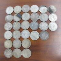 29 PC LOT MORGAN SILVER ONE DOLLAR $1 COINS OLD USED CIRCULA