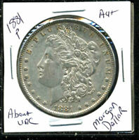 1881 P AU MORGAN DOLLAR 90 SILVER COIN ABOUT UNCIRCULATED COMBINE SHIP$1 C1562